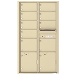 4C Horizontal mailbox 19 Compartment