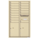 4C Horizontal mailbox 16 Compartment