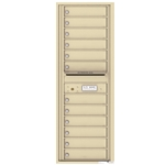 4C Horizontal mailbox 12 Compartment