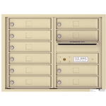 Florence 4C mailboxes are USPS Approved and meet or exceed STD-4C requirements for new construction and major renovations. They are also ideal for private delivery applications. 10 Tenant Doors with Outgoing Mail Compartment - 4C Recessed Mount versatile™ - Model 4C06D-10