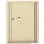 1 Parcel Door / Parcel Locker - 4C Recessed Mount versatile™ - Model 4C06S-1P