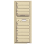 10 Tenant Doors and Outgoing Mail Compartment - 4C Recessed Mount versatile™ - Model 4C12S-10