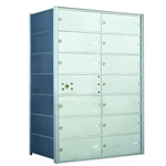13 Tenant Doors with 1 Master Door - 1400 Series USPS 4B+ Approved Horizontal Replacement Mailbox - Model 140074DA