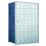 41 Tenant Doors with 1 Master Door - 1600 Series Front Loading, Recess-Mounted Private Delivery Mailboxes - Model 160076A