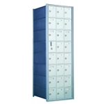 23 Tenant Doors with 1 Master Door - 1600 Series Front Loading, Recess-Mounted Private Delivery Mailboxes - Model 160083A