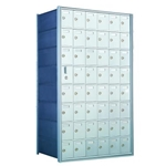 47 Tenant Doors with 1 Master Door - 1600 Series Front Loading, Recess-Mounted Private Delivery Mailboxes - Model 160086A