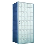 44 Tenant Doors with 1 Master Door - 1600 Series Front Loading, Recess-Mounted Private Delivery Mailboxes - Model 160095A