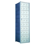 10 Doors High x 3 Doors Wide - Custom 1600 Series Front Loading, Recess-Mounted Private Delivery Mailboxes - Model 1600103-SP