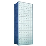 12 Doors High x 5 Doors Wide - Custom 1600 Series Front Loading, Recess-Mounted Private Delivery Mailboxes - Model 1600125-SP