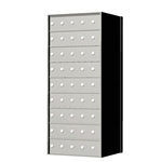 9 Doors High x 5 Doors Wide (45 Tenant Doors) - 1700 Series Rear Loading, Custom Configurable Private Delivery Mailboxes - Model 170095-SP