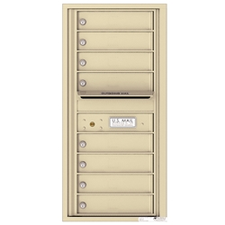 8 Tenant Doors with Outgoing Mail Compartment - 4C Recessed Mount versatile™ - Model 4C10S-08
