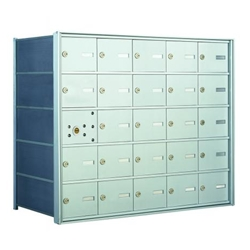 24 Tenant Doors with 1 Master Door - 1400 Series USPS 4B+ Approved Horizontal Replacement Mailbox - Model 140055A