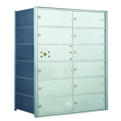 11 Tenant Doors with 1 Master Door - 1400 Series USPS 4B+ Approved Horizontal Replacement Mailbox - Model 140064DA