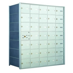 34 Tenant Doors with 1 Master Door - 1400 Series USPS 4B+ Approved Horizontal Replacement Mailbox - Model 140075A