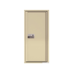 Package Protector™ PRO for Single Family Homes - Carrier Neutral Package Delivery Box - In Sandstone Color