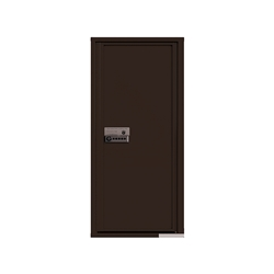 Package Protector™ PRO for Single Family Homes - Carrier Neutral Package Delivery Box - In Dark Bronze Color