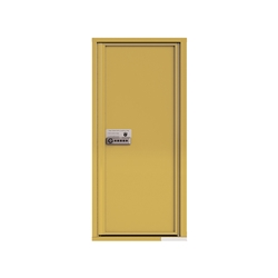 Package Protector™ PRO for Single Family Homes - Carrier Neutral Package Delivery Box - In Gold Speck Color