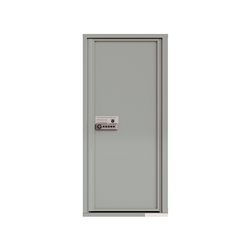 Package Protector™ PRO for Single Family Homes - Carrier Neutral Package Delivery Box - In Silver Speck Color